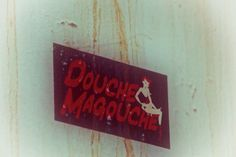 Sticker on a public street. Old brand? Old bar? Not sure. Not sure I want to know.