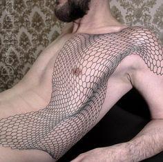 Mesh Tattoo by Chaim Machlev