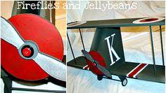 DIY airplane shelf!