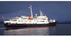 MS Lofoten i Molde våren 2015. Kranhuset er nå på sin siste tur. Bygd i Molde i 1964.