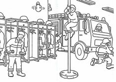Ausmalbilder Feuerwehr Kostenlos Ausdrucken 01