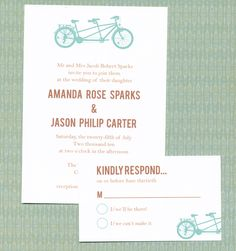 Free tandem printable...about tons of other invite sets free!