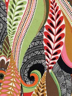 printed fabric swirls - Google Search