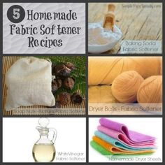 5 Homemade Fabric Softener Recipes