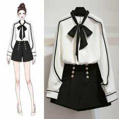 ✔ Fashion Drawing Outfits Art Source by dress sketches Kawaii Fashion, Cute Fashion, Look Fashion, Trendy Fashion, Fashion Art, Komplette Outfits, Korean Outfits, Fashion Outfits, Fashion Ideas