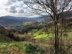 Vista desde Gallegos #Mieres #Asturias