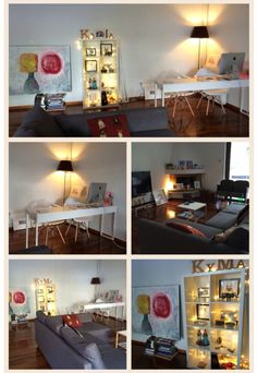 KyMa living space gone domestic. No matter the continent our home always reflects a colorful, creative, whimsical, vibrant and a happy, full of love....life!