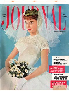 Wedding themed Ladies Home Journal from 1958, check out some of the articles!
