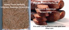 Linguica Sausage Seasoning, Order now..., Food items in Hart County