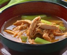 HCG Diet Recipes - HCG Savory Chicken Soup