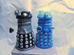 Cake Toppers Custom  Wedding Dalek Sci Fi, $75.0
