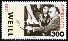 kurt weill stamp - Google Search