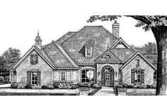 House Plan 310-267 A little large but nice