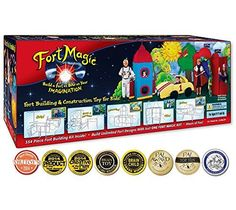 Fort Magic: Fort Building & Construction Toy Kit Fort Magic