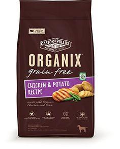 Organix Grain Free Chicken & Potato Recipe Dry Dog Food, ... https://www.amazon.com/dp/B00JZKN8HS/ref=cm_sw_r_pi_dp_lI3ExbKAQC7M9  4 each