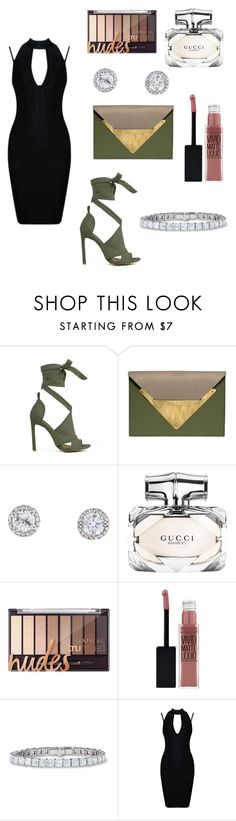 """Conclusion"" by faith-fashion-queen1230 ❤ liked on Polyvore featuring beauty, Dareen Hakim, Gucci and Maybelline"
