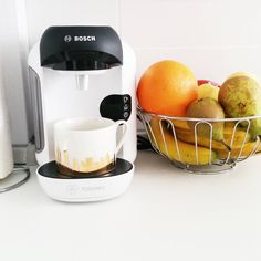 Just got a new coffee machine. I'm so excited to try it now. #coffeeaddict #coffeelover #coffee #tassimo