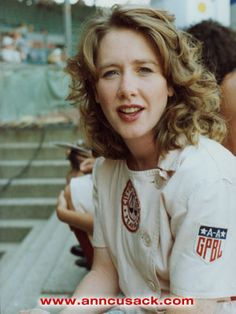 "Ann Cusack as Shirley Baker in ""A League of Their Own"""