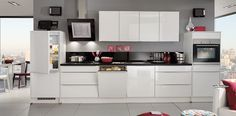 View the latest collection of #Nobilia #german #Fitted #kitchen design at Link design Interiors.