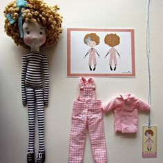 Beatriz #fabricdolls #bonecadepano #Cecíliamurgel #anacardia Doll Clothes Patterns, Doll Patterns, Raggy Dolls, Crochet Dolls, Fabric Toys, Paper Toys, Paperclay, Doll Tutorial, Waldorf Dolls