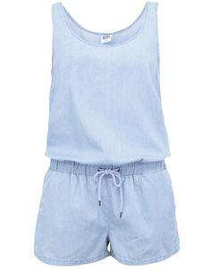 Vero Moda - Světle modrý denimový overal  Just Easy - 1