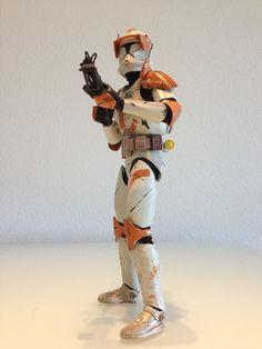 Action figure Commander Cody.