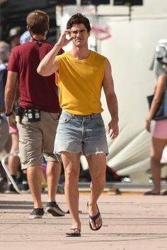 American Horror Story - From the fans perspectives Darren Criss, Mode Masculine, Viking People, American Crime Story, American Horror, Preppy Men, Boys Like, Gianni Versace, Handsome Boys