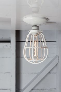 Industrial Lighting  Modern Cage Light  Ceiling Mount by IndLights