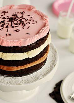 +Chocolate cake
