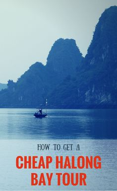 Being ripped off for your cruise in Halong Bay? Here's how to organise your own DIY trip to Halong Bay on the cheap without compromising. Budget travel to Vietnam.