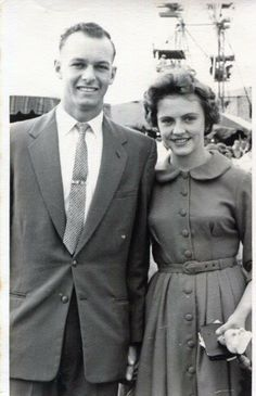 Bob Turner and Barb Cain at the Show 1962 - photo courtesy of Bryan Turner