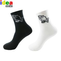 Underwear & Sleepwears Nice Autumn Winter Chinese Knot Art Men Socks Embroidery Fu Character Brand Retro Vintage Crew Cotton Male Festive Tube Socks