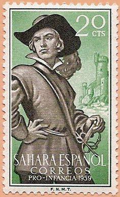 Sáhara Español, Pro Infancia 1959 - Portal Fuenterrebollo