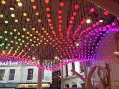 Colourful mood lighting