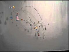 Kinetic Mobile Sculpture by Carolyn Weir - Pieces of Me - YouTube