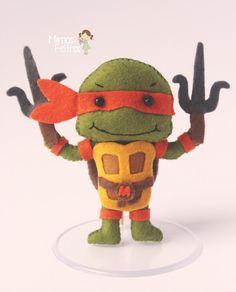 Michelangelo - Tartarugas Ninjas                                                                                                                                                                                 Mais