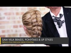 Slip Tie Braid | Knotted Mohawk Braid - YouTube