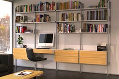 ISS Designs Modular Shelving systems