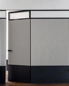 Wood Closet Doors, Interior Walls, Interior Design, Wall Design, House Design, Door Gate Design, Wall Finishes, Folding Doors, Maker