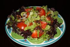 Southwestern Red Bean Salad with salsa and barbecue sauce.