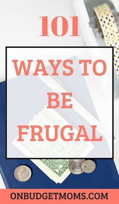 Frugal living is on the rise, these easy frugal tips are the best for beginners. Not sure where to start living frugally? With these 101 frugal living ideas you will find some ways to cut back on expenses and save money.
