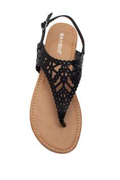 Krea 32 Lacy Laser Cut Sandal