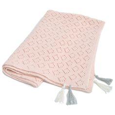 Pointelle Baby Blanket