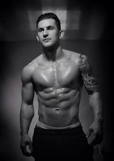 Tattoo men Awesome Fitness model