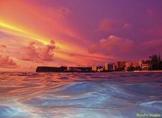 Beautiful... just beautiful!!!  Sunset in Guam!!!