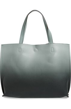 Street Level Ombré Reversible Faux Leather Tote available at #Nordstrom