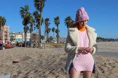#behindthescenes of the #nastygal Cold Weather Shop