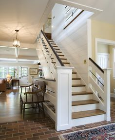 Magnificent Stair Railing trend Philadelphia Traditional Staircase Decoration ideas with archer buchanan Archer and buchanan back staircase english country home stair railing ideas transitional