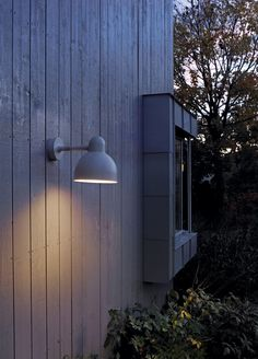Exterior wall light - available in aluminium, graphite, or white finish. Home And Garden, Exterior Wall Light, Lighting, Lighting Design, Exterior Lighting, Lighting Fixtures, Lights, Exterior, Perfect Lights