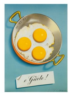 Three Fried Eggs, Guete Posters at AllPosters.com